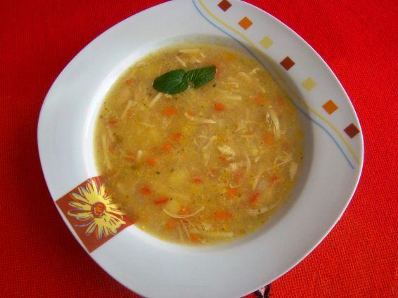 Снимка 1 от рецепта за Пилешка супа без застройка