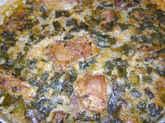 Снимка 1 от рецепта за Агнешко с ориз и зелен лук
