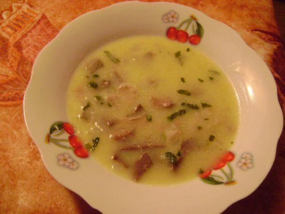 Снимка 1 от рецепта за Агнешка супа с дреболии