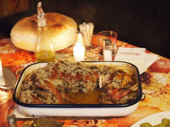 Снимка 1 от рецепта за Пълнен заек