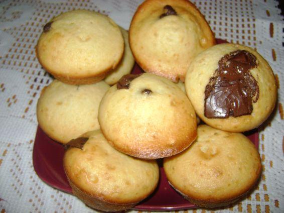Снимка 1 от рецепта за Мъфини с шоколад и лимонова кора