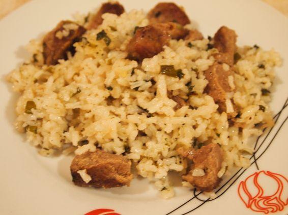 Снимка 1 от рецепта за Телешко с ориз