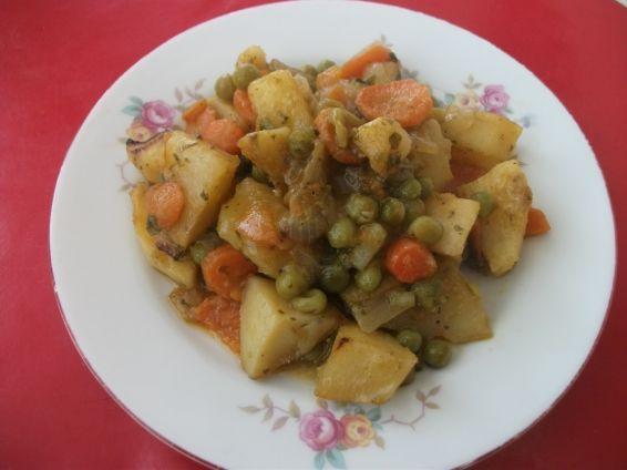 Снимка 1 от рецепта за Зеленчуци на фурна