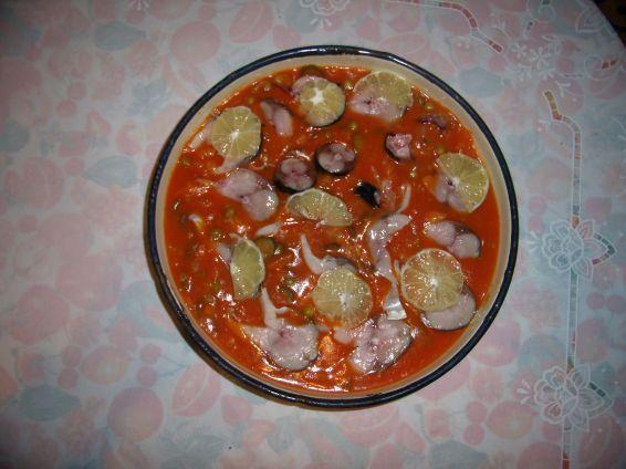 Снимка 1 от рецепта за Скумрия - консерва