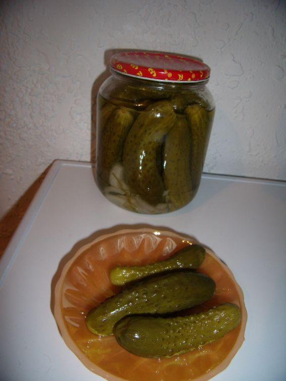 Снимка 1 от рецепта за Мариновани краставички