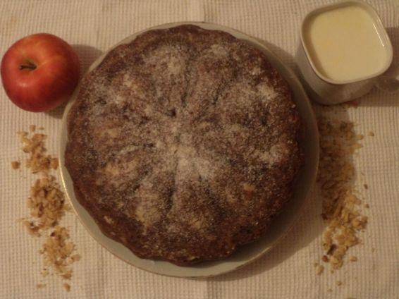 Снимка 1 от рецепта за Ябълков сладкиш