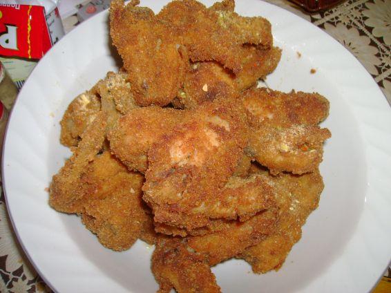 Снимка 1 от рецепта за Панирани  пилешки  крилца