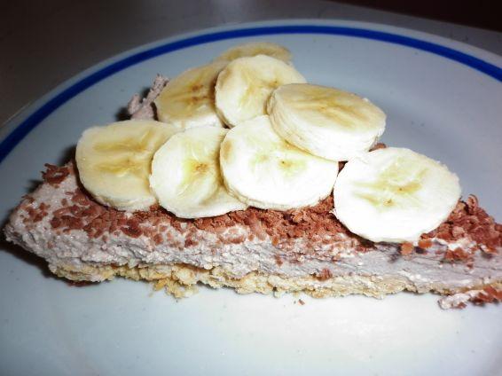Снимка 1 от рецепта за Бананов чийзкейк без печене