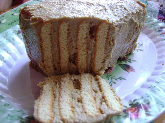 Снимка 1 от рецепта за Торта с тахан халва