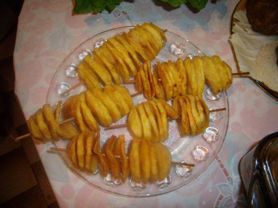 Снимка 1 от рецепта за Ефектни пържени картофи