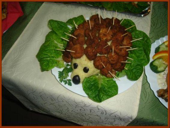 Снимка 1 от рецепта за Картофен таралеж
