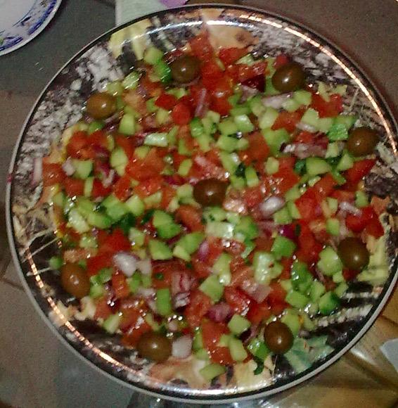Снимка 1 от рецепта за Алжирска салата