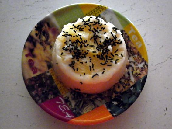 Снимка 1 от рецепта за Млечно кремче с ананас