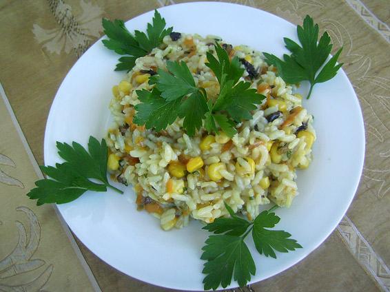 Снимка 1 от рецепта за Пилаф със зеленчуци