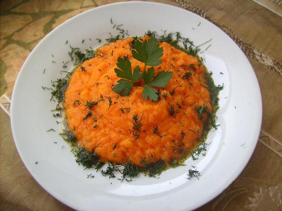 Снимка 1 от рецепта за Пюре от моркови