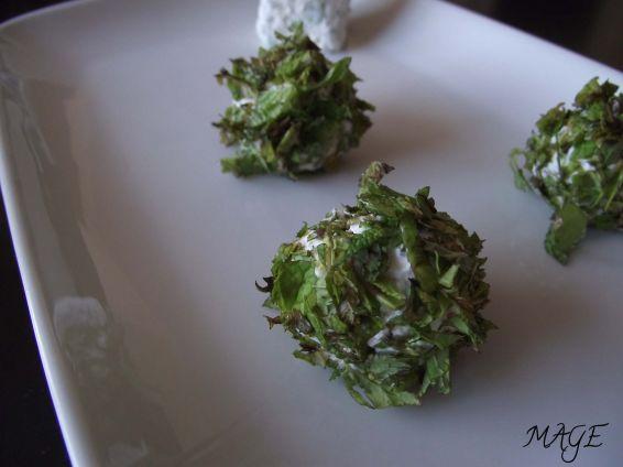 Снимка 1 от рецепта за Ментова фантазия