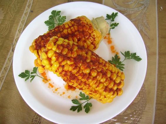 Снимка 1 от рецепта за Пикантна царевица