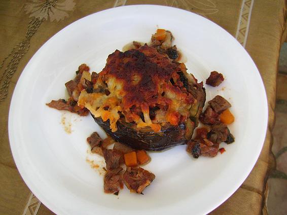Снимка 1 от рецепта за Патладжани с плънка