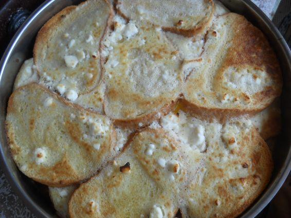 Снимка 1 от рецепта за Баница със сух хляб