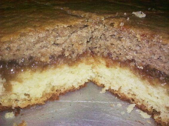 Снимка 1 от рецепта за Двуцветен кекс с мармалад