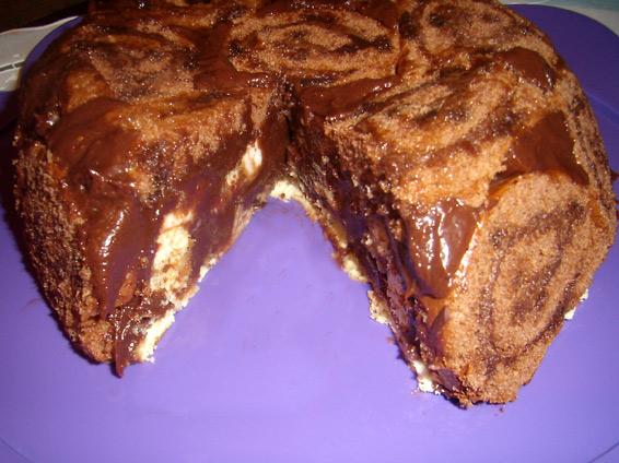 Снимка 1 от рецепта за Торта с рула