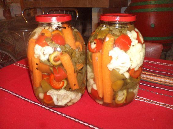 Снимка 1 от рецепта за Рязана туршия