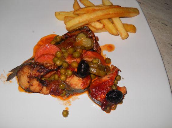 Снимка 1 от рецепта за Скумрия във фурна