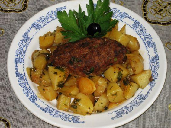 Снимка 1 от рецепта за Мини рулца с картофи