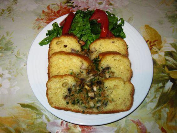 Снимка 1 от рецепта за Солен кекс с пълнеж