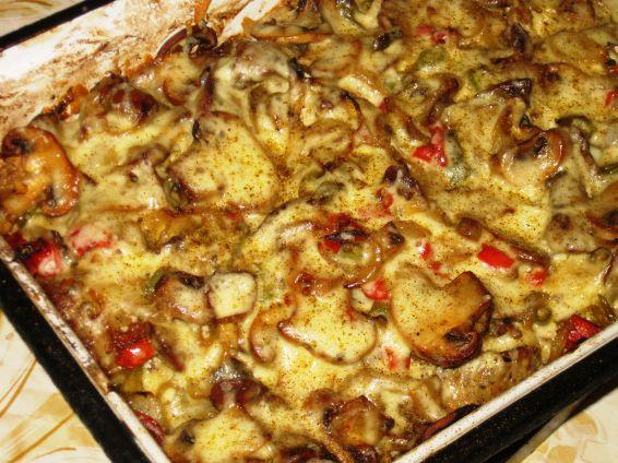 Снимка 1 от рецепта за Пилешки дробчета с майонеза