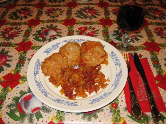 Снимка 1 от рецепта за Далматински сарми