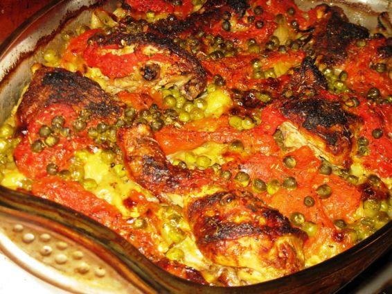 Снимка 1 от рецепта за Пиле с картофи `Чудесия`