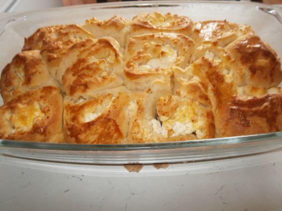 Снимка 1 от рецепта за Питка със сирене