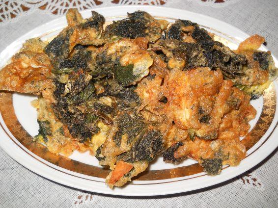 Снимка 1 от рецепта за Панирана коприва