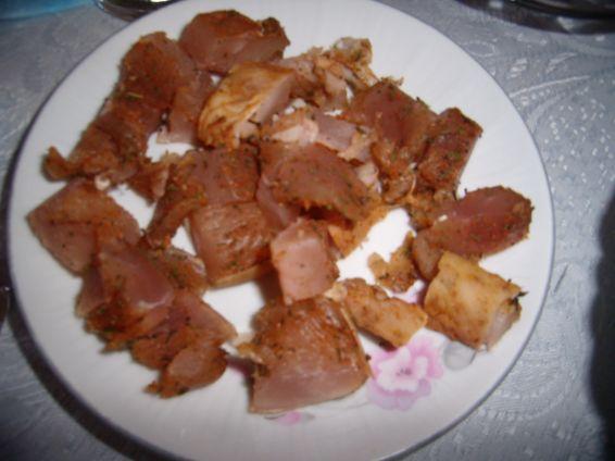 Снимка 1 от рецепта за Сушено пилешко филе