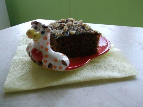 Снимка 1 от рецепта за Какаов сладкиш с глазура