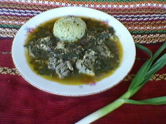 Снимка 1 от рецепта за Лапад със свинско месо на фурна