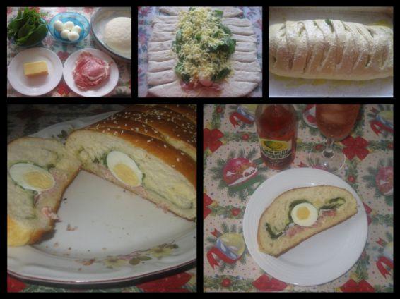 Снимка 1 от рецепта за Пълнен хляб