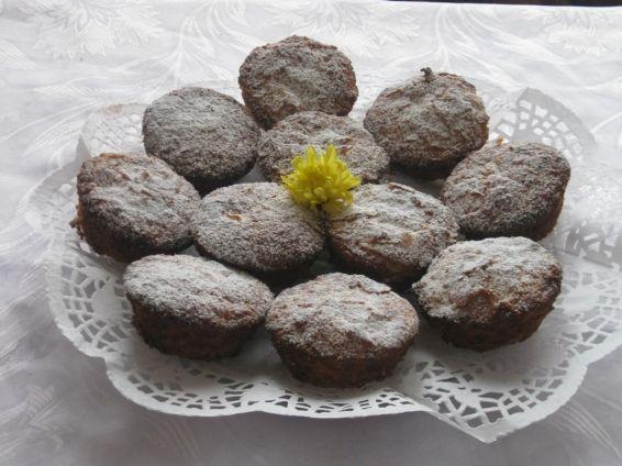 Снимка 1 от рецепта за Банички-мъфини с локум