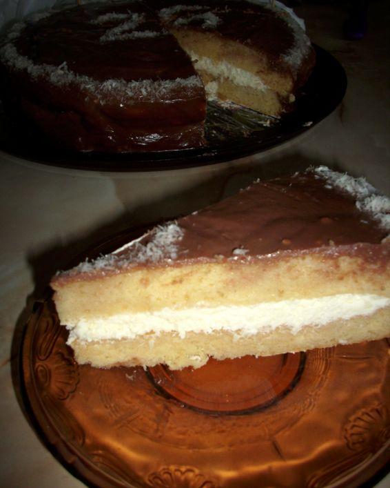 Снимка 1 от рецепта за Пандишпанов блат за торта