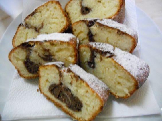 Снимка 1 от рецепта за Лимонов кекс с какао