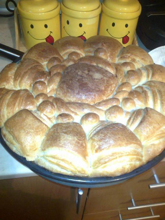 Снимка 1 от рецепта за Още една празнична пита