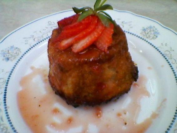 Снимка 1 от рецепта за Ягодови кейкчета с козунак