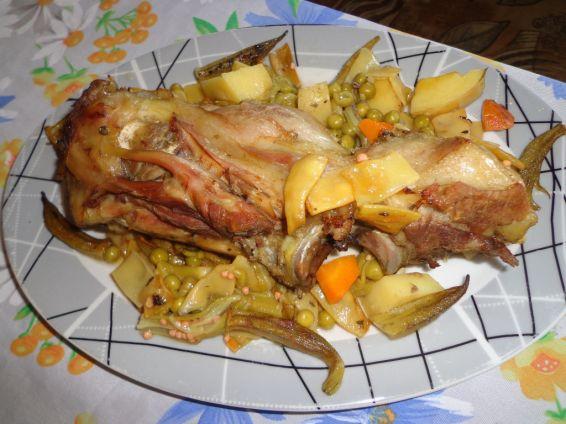 Снимка 1 от рецепта за Джоланче със зеленчуци
