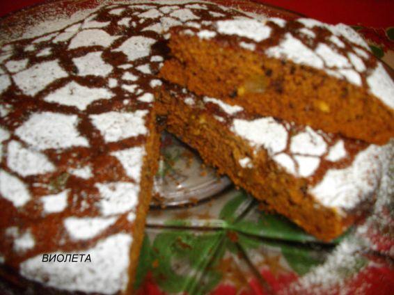 Снимка 1 от рецепта за Меден сладкиш - II вариант