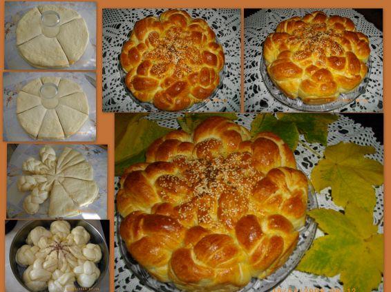 Снимка 1 от рецепта за Плетена питка