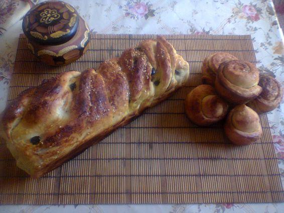 Снимка 1 от рецепта за Хляб с маслини