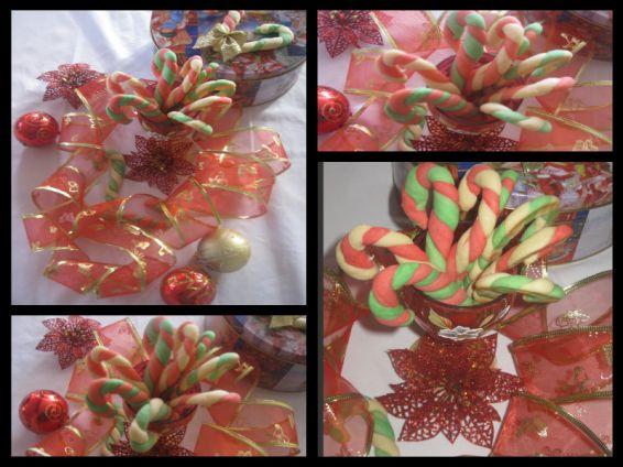 Снимка 1 от рецепта за Коледни бастунчета