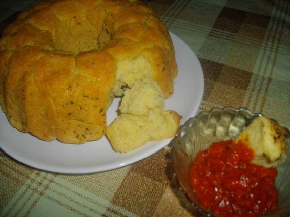 Снимка 1 от рецепта за Солен маймунски хляб