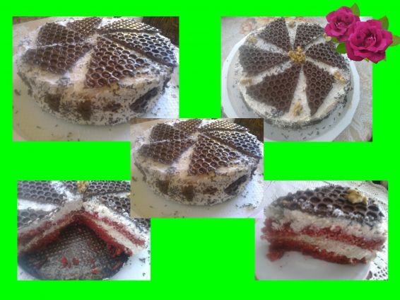 Снимка 1 от рецепта за Торта сметанова наслада